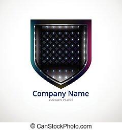 ecure shield logo design