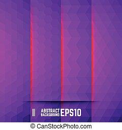 abstract, set, achtergronden, viooltje