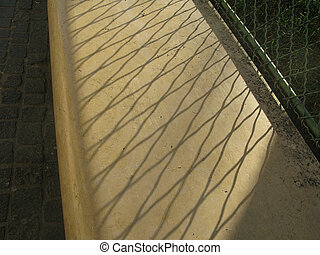 Abstract shadow pattern