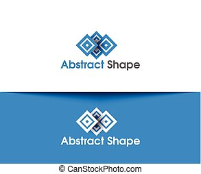 Abstract Shape Logo