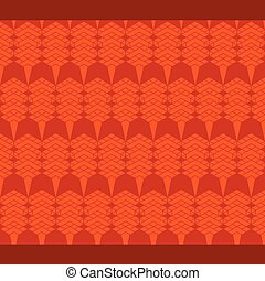 abstract shape pattern design