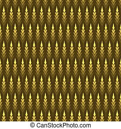 abstract shape tree pattern design