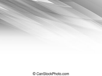 Abstract shapes on grey background