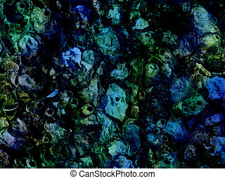 Abstract Shelled Background