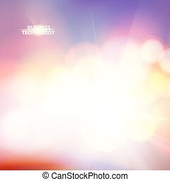 Abstract shining space futuristic background