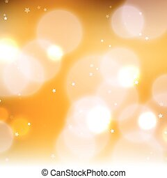 Abstract shiny blurred lights background stock illustration