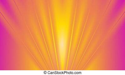 Abstract shiny bright beams video animation