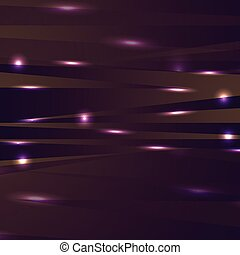 Abstract shiny glowing stripes vector background