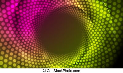 Abstract shiny sparkling lights video animation. Seamless loop
