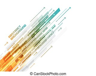 Abstract shiny straight lines vector background. - Abstract...