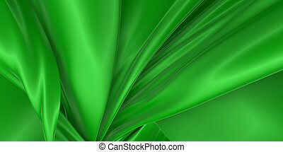 Abstract silk background. 3D rendering.