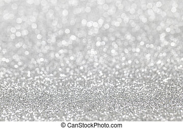 Abstract silver glitter background - Abstract silver glitter...