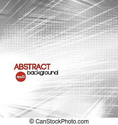 Abstract silver shiny template background - Vector Abstract...