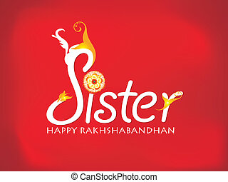 abstract sister love background
