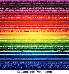 Abstract sketch rainbow stripes colorful background