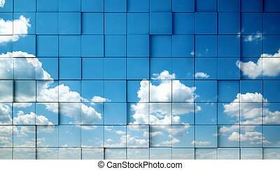 Abstract sky concept