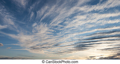 abstract sky panorama