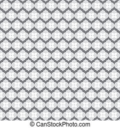 abstract small flower pattern