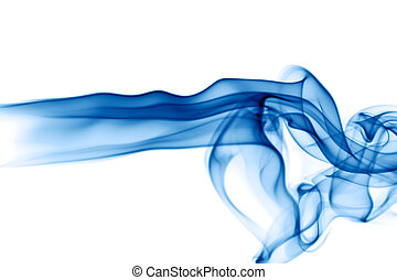 Abstract Smoke - Abstract smoke on white background