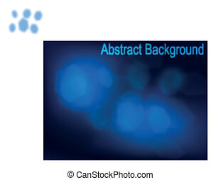 Abstract Smoke Trails - abstract smoke trails on deep blue...