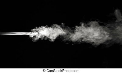 Abstract Smoke Turbulence