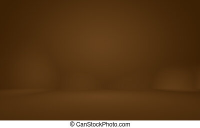 Abstract Smooth Brown wall background layout design, studio, room, web template, Business report with smooth circle gradient color