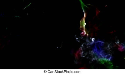 Abstract Smooth Smoke Turbulence