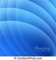 Abstract Smooth Waves Vector Background