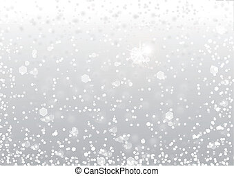abstract, sneeuw, achtergrond