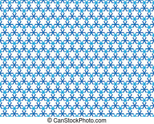 abstract snowflake background pattern