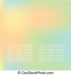 Abstract soft  banners set. Purple, green, blue, yellow, pink pastel colorful background.