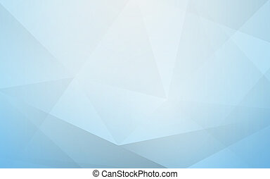 Abstract soft blue polygon geometric background