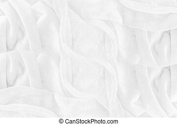 Abstract soft white cloth texture background