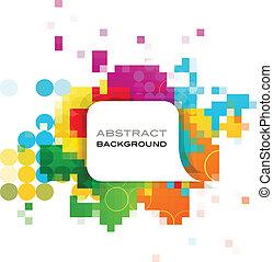 abstract, spandoek, kleurrijke