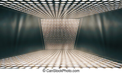Abstract sparkling background, a stage lights background