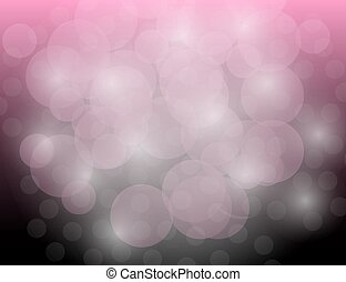 Abstract Sparkling Stars on Pink Holiday Background