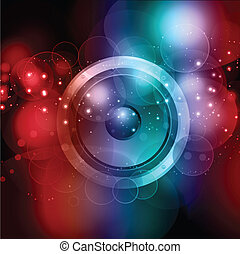 abstract speaker background - Abstract background with...