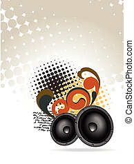 abstract speakers design