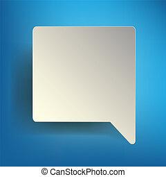 Abstract - Speech bubble