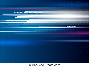 Abstract speed motion background vector illustration