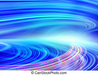 Abstract speed motion