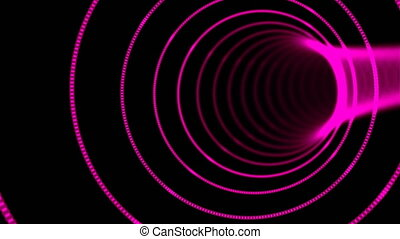 Abstract speed tunnel warp, moving in space and time,...