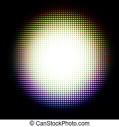 Abstract sphere light background
