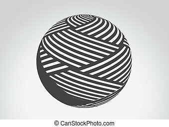 Abstract Sphere Logos Illustration for Your Design