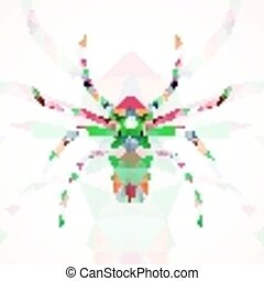 Abstract Spider illustration
