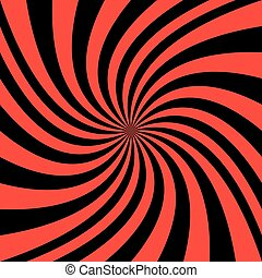Abstract spiral background - vector graphic