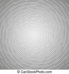 Abstract spiral design pattern. Circular, rotating background, vector illustration