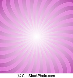 Abstract spiral ray background from spun rays - Abstract...