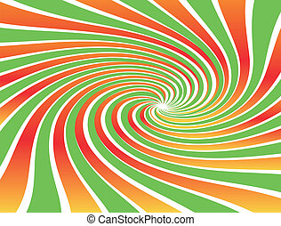 Abstract spiral vector background