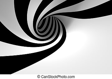 Abstract spiral